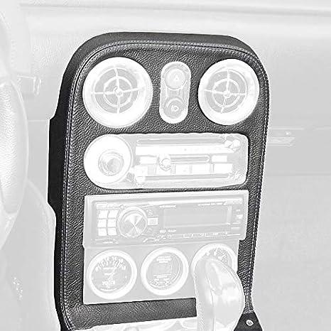 Black Alcantara-Blue Thread RedlineGoods armrest Cover Compatible with Mazda Miata NA 1990-97