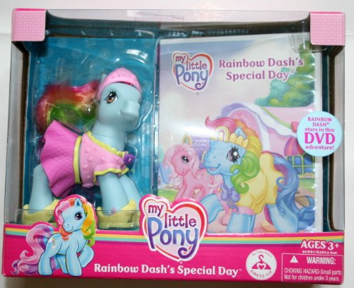 My Little Pony Rainbow Dash's Special Day pony with DVD image