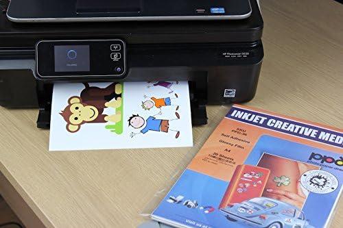 Amazon.com : PPD Inkjet Matte Creative Vinyl Stickers LTR ...