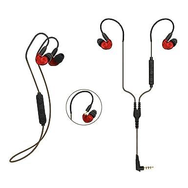 KSCAT inalámbrico deportes auriculares de diadema Bluetooth auriculares auriculares Bluetooth 4.1 cancelación de ruido 5 horas