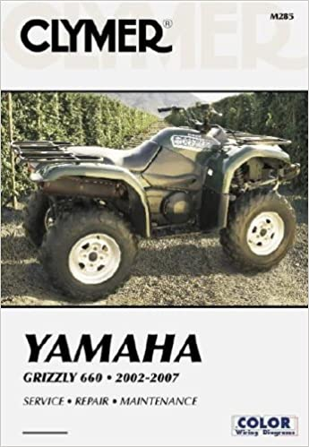 Yamaha Grizzly 660 2002-2007 (Clymer Motorcycle Repair ... on