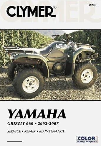 yamaha grizzly 660 2002 2007 (clymer motorcycle repair) (clymer 2002 Kawasaki Prairie 300 Wiring Diagram