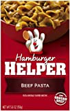 Hamburger Helper, Beef Pasta, 5.6-Ounce Boxes (Pack of 6)