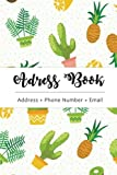 Address Book: Cute Cactus - The Best Solution for You to Organize Addresses with Birthday Record (Volume 1)