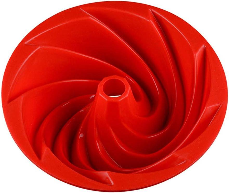 Forme de Spirale Moules /à Cake #2 KBstore Moule /à Kouglof en Slicone Antiadh/ésif