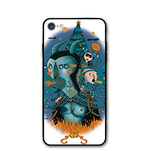 Krampus Costume Kids Christmas iPhone 7 8 Phone Case Cover Theme Decorative Mobile Accessories Ultra Thin Lightweight Shell Pattern -