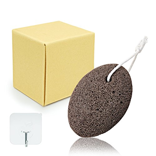 - Pumice Stone Lava Foot Scrubber - Airdom Natural Earth Volcanic Lava Wet Back Exfoliating Rock for Feet Heel Toe Scrubber Pedicure Massage Spa and Foot Dead Skin Callus Corn Remover Tool