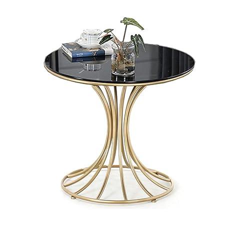 Amazon.com: Mesa auxiliar de cristal templado de Zhirong ...