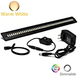 Under Cabinet Lighting - Ultra Thin, 2 Coin Thickness LED Light Plug-In, Full