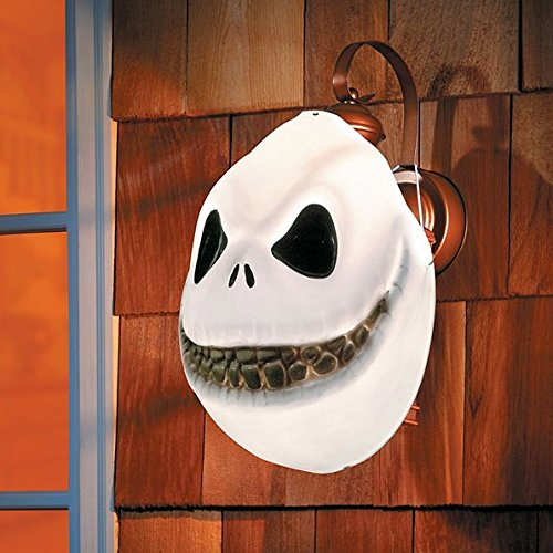 JACK SKELLINGTON PORCH LIGHT COVER OUTDOOR HALLOWEEN DECORATION -