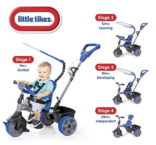 Triciclo 4 Em 1 Azul Little Tikes Little Tikes Azul