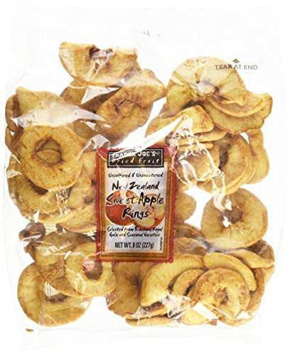 - Trader Joe's New Zealand Sweet Apple Rings (Dried Fruit)