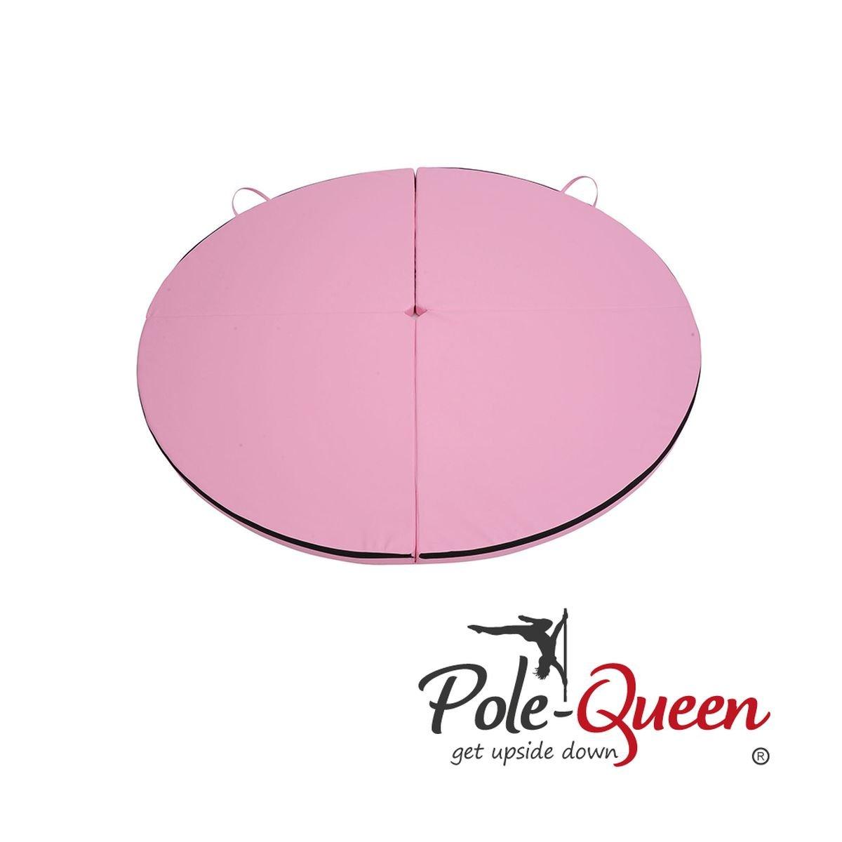 Pole Dance Tapis de Original POLE-QUEEN© Top Qualité La Crash Tapis de protection parfaite 1993-pink