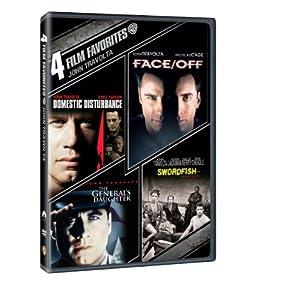 4 Film Favorites: John Travolta (Domestic Disturbance, Face/Off, The General'S Daughter, Swordfish) (2013)