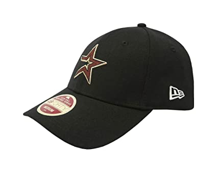 New Era 49Forty Hat Houston Astros Heritage Series Cooperstown Black Cap  (Small) 3138cc6ef0e2