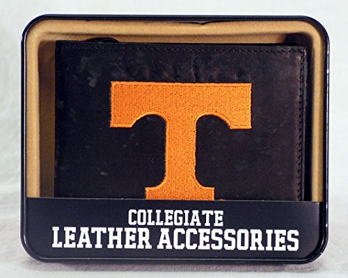 NCAA Tennessee Volunteers Embroidered Leather Billfold Wallet