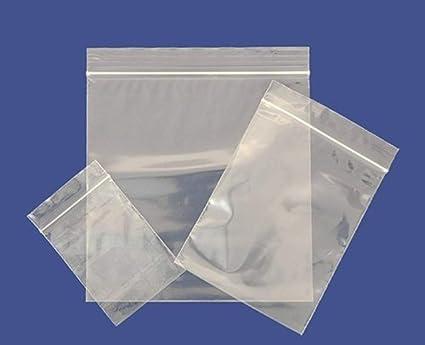 100 bolsas con cierre hermético de plástico resistente ...