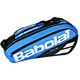 Babolat 2018 Best Quality Pure 6 Racquet Tennis Bag (Blue / Black) Babolat