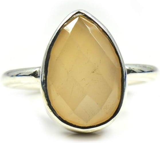 8x12 mm Pear Rainbow Moonstone Cabochon Loose Gemstone Lot 100 pcs
