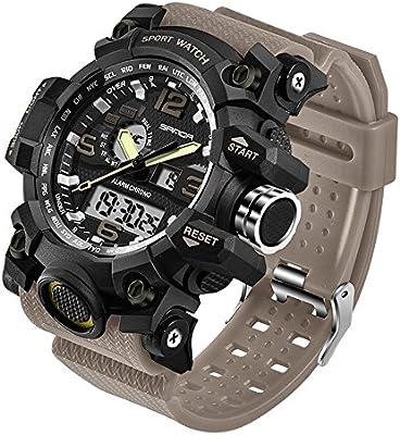 804585e22060 Taffstyle - Reloj de pulsera deportivo para hombre