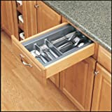 Rev-A-Shelf GCT-1S-52 Cutlery Organization Tray, Metallic Silver