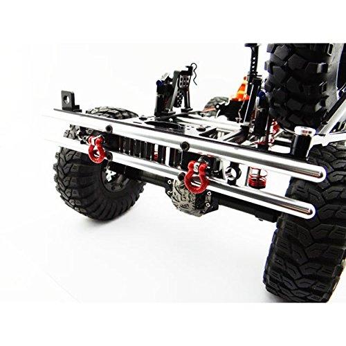 Hot Racing Scx03Era01 Tubular Rear Bumper with Winch and Light Mount
