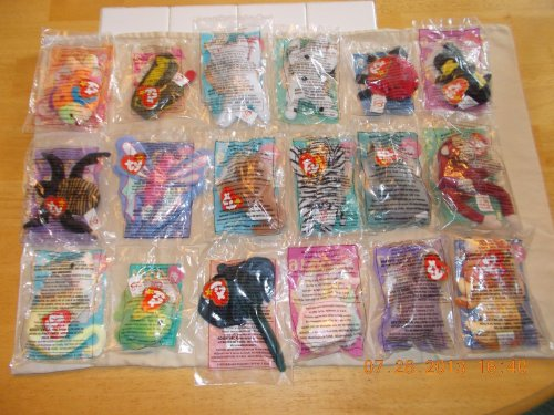 TY McDonald's Teenie Beanies - Complete Bagged Set of 18 ...