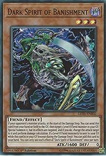 LED5-EN003 Dark Spirit of Malice1st EditionSuper Rare CardYuGiOh TCG