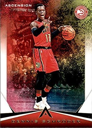9eb471c43 2017-18 Panini Ascension  5 Dennis Schroder Atlanta Hawks Basketball Card
