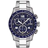 Tissot V8 Blue Quartz Chronograph Sport Men's watch #T039.417.11.047.02, Watch Central