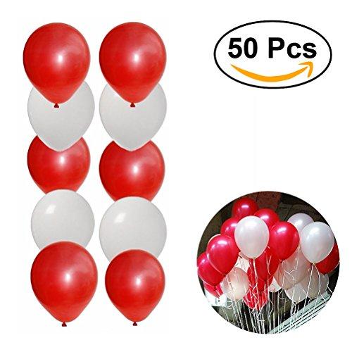 Round Balloons 50 pcs - 1