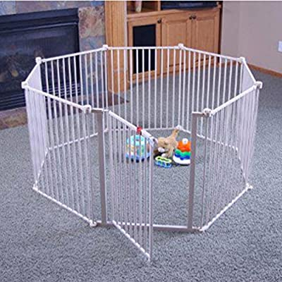 Regalo 4 in 1 Configurable Metal Play Yard