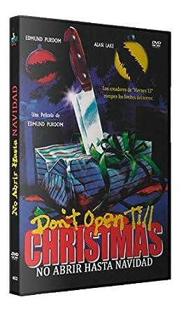 No Abrir Hasta Navidad DVD 1984 Dont Open Til Christmas ...