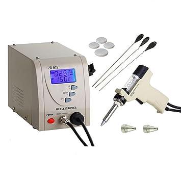 Digital Profesional - Estación desoldadora 80 W ZD de 915 Bomba de vacío - Digital: Amazon.es: Electrónica