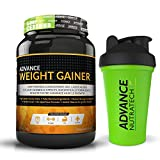 Advance Weight Gainer 1Kg (2.2Lbs) Chocolate +Free Shaker