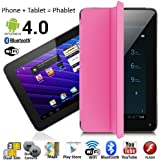 7 Android 4.0 Phablet Tablet PC + GSM Phone Dual-Sim WiFi Bluetooth Smart Cover