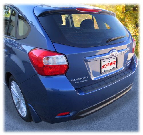 C&C Car Worx Rear Bumper Cover Guard Protection for 2012-13-14-15-16 Subaru Impreza 5-Door Hatchback