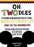 Mickey Mouse Birthday Invitation Oh Toodles.Any age!