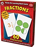 Hands-On Learning Fractions Card Game (Hands-On Learning Math Games)