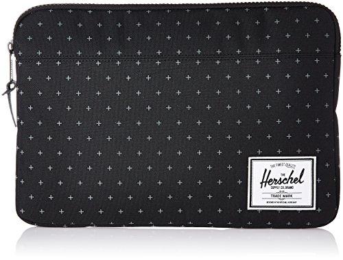 Black 13 01577 S Herschel nbsp;– 13 Cross MacBook nbsp;' Sleeve Hatch Raven nbsp;scatt ered Anchor Gridl Carcasa wIqO6Z