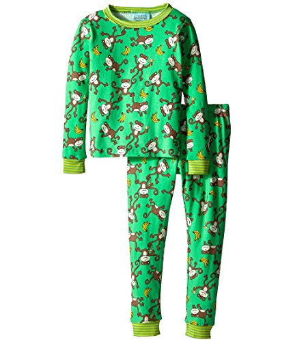 Price comparison product image BedHead Kids Unisex Stretch L/S Kids PJ (Toddler/Little Kids) Going Bananas Pajama Set 8 (Little Kids)