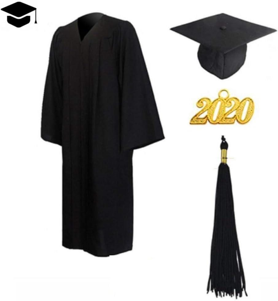 2020 Unisex Toga De Graduación Y Birrete Túnica Para La Graduación ...