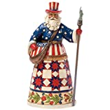 Heartwood Creek by Jim Shore American Santa Claus Stone Resin Figurine
