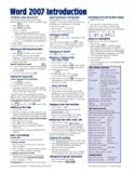Microsoft Word 2007 Introduction Quick Reference Guide, Beezix, Inc Staff, 1934433551