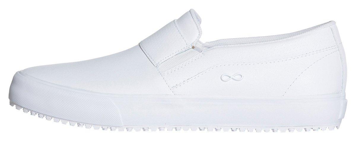 Infinity Footwear Women's Vulcanized Footwear B079FXMGCW 6|White, White