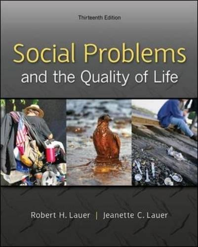 78026865 - Social Problems and the Quality of Life, 13th Edition