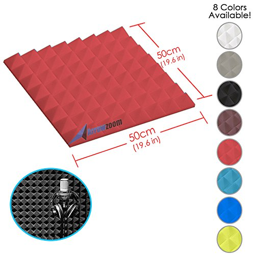 arrowzoom-new-1-piece-of-196-in-x-196-in-x-19-in-soundproofing-insulation-pyramid-acoustic-wall-foam
