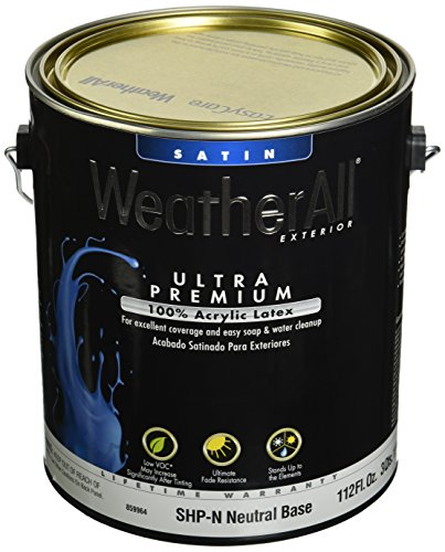 True Value SHPN-GL Premium WeatherAll Neutral Satin Base for Exterior, 1-Gallon