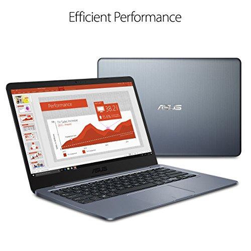 "514h9TiCxrL - ASUS E406SA-DS04 E406 14"" Laptop, Celeron N3060 (up to 2.48GHz), 4GB DDR3, 64GB eMMC, 14.0"" FHD Display, 802.11ac, Windows 10"