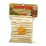 Beefeaters White Rawhide Twists, 100-Pack, My Pet Supplies